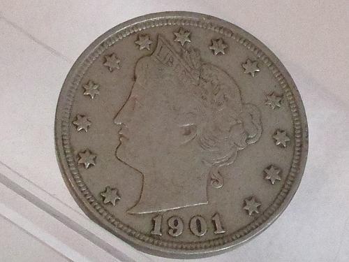 1901 P Liberty Nickel #2