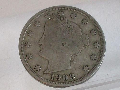 1903 P Liberty NickelS    #3