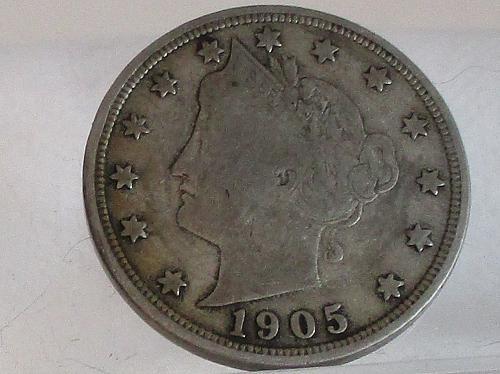 1905 P Liberty Nickel  #2