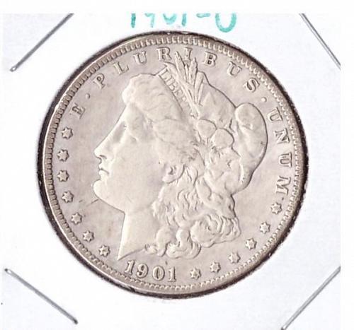 Excellent Condition 1901-O Morgan Silver Dollar