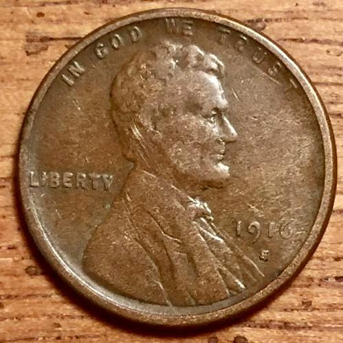 1916S Lincoln Cent