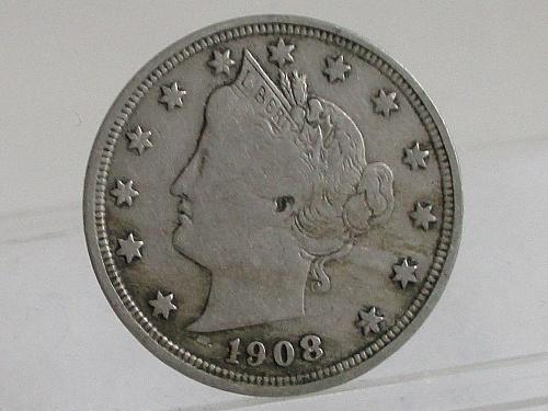 1908 P Liberty Nickel #2