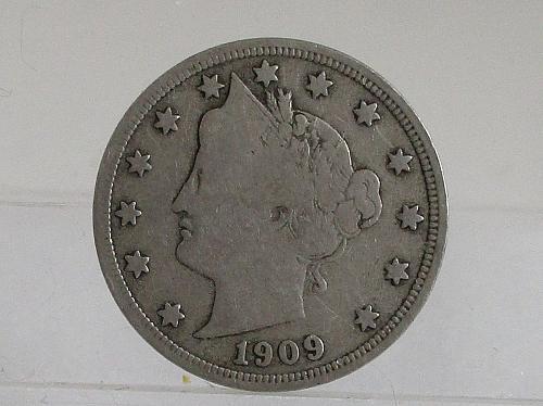 1909 P Liberty Nickel #3