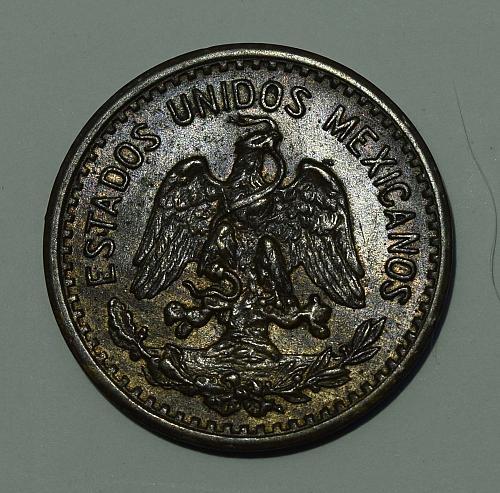 1923 Mexico ESTADOS UNIDOS MEXICANOS Centavo