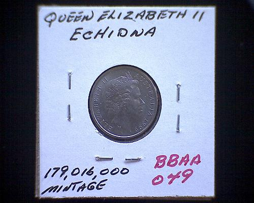 1999 AUSTRALIA FIVE CENTS