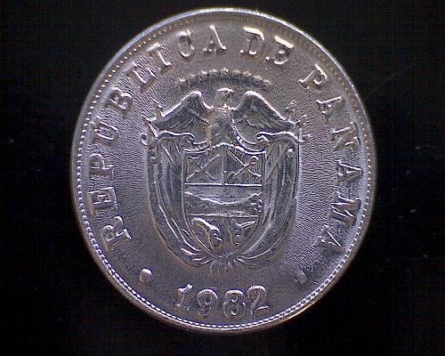 1982 PANAMA  FIVE CENTESIMOS