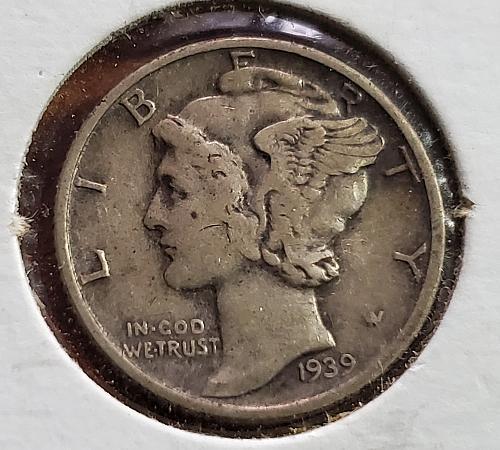 1939 Mercury Dime - 0024