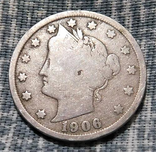 1906 Liberty V Nickel