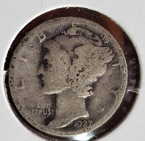 1927 S Mercury Dime - 0046