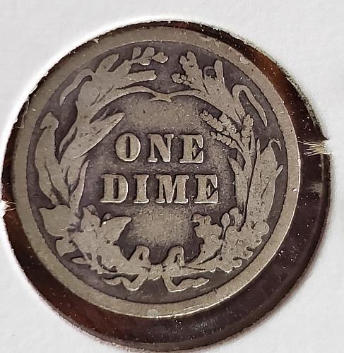1912 P Barber Dime - 0047