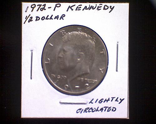 1972 P KENNEDY 1/2 DOLLAR