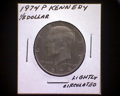 1974 P KENNEDY HALF DOLLAR
