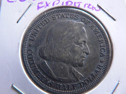1893 Columbian Exposition Half Dollar #65