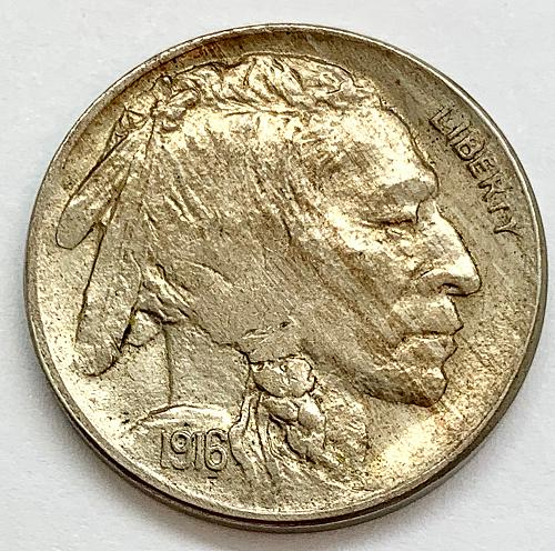 1916 Buffalo Nickel