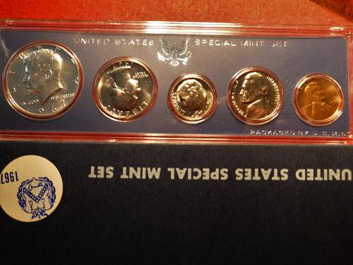 1967 US Special Mint Set SMS