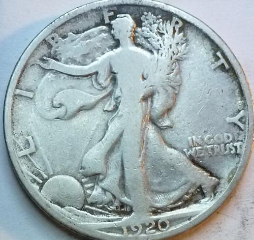 1920-S Fine Walking Liberty Half Dollar  ( 327 )