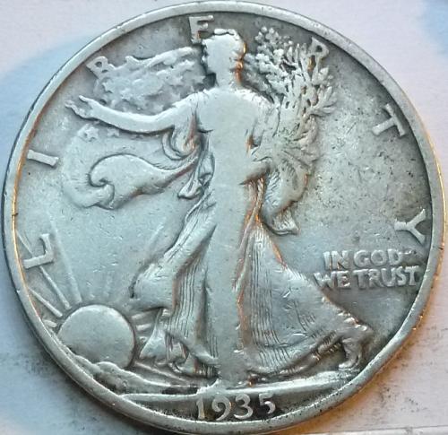 1935-P Very Fine Walking Liberty Half Dollar  ( 336 )
