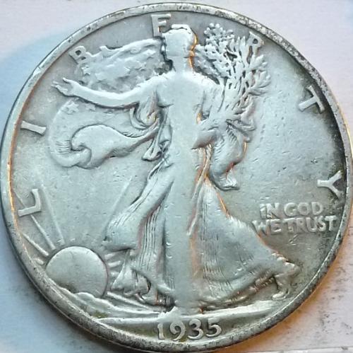 1935-S Very Fine Walking Liberty Half Dollar  ( 338 )