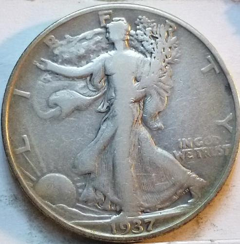 1937-P Very Fine Walking Liberty Half Dollar  ( 342 )