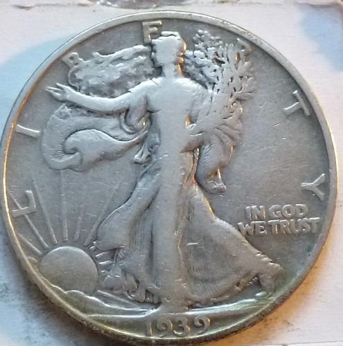 1939-S Very Fine Walking Liberty Half Dollar  ( 348 )