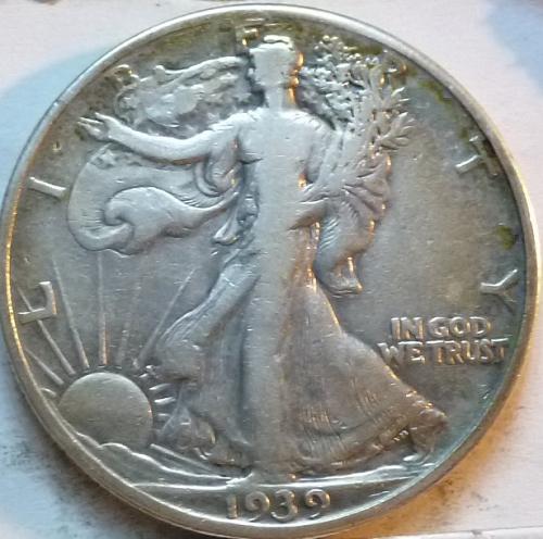 1939-P Very Fine Walking Liberty Half Dollar  ( 346 )