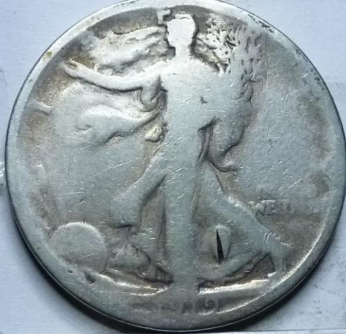 1919-P Good Walking Liberty Half Dollar  ( 320 )
