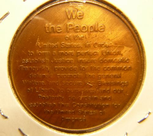 200TH ANNIVERSARY US CONSTITUTION  COMMEMORATIVE  COIN