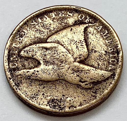 1858 Flying Eagle Cent - Small Letters