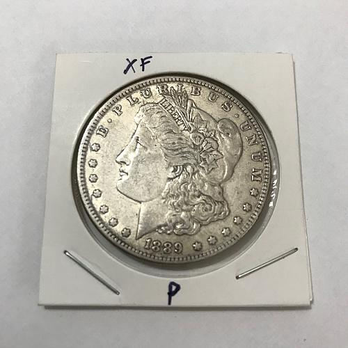 1889 P Morgan Dollar