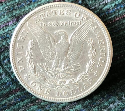 For sale a 1921 San Francisco Morgan silver Dollar