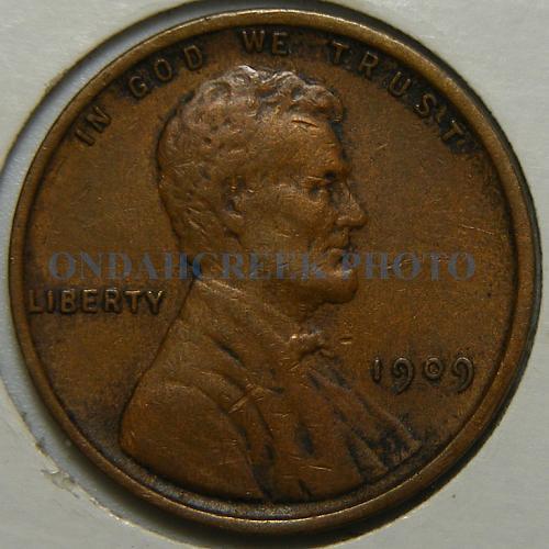 1909 VDB Lincoln Cent Very Fine