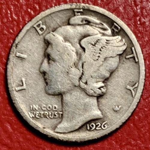 1926 Mercury Dime