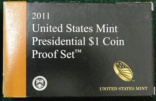 2011 S     4 PIECE PRESIDENTIAL   PROOF SET