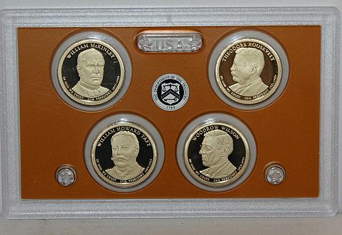2013 S     4 PIECE PRESIDENTIAL   PROOF SET