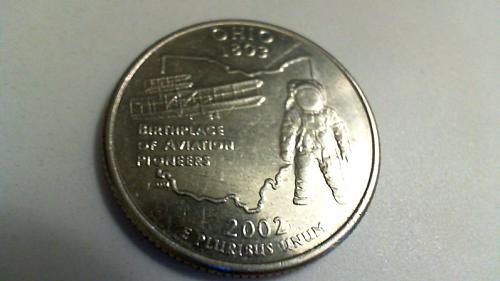 2002 D Ohio 50 States and Territories Quarters