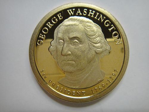 2007-S Washington Presidential Dollar Proof-66 (GEM+)