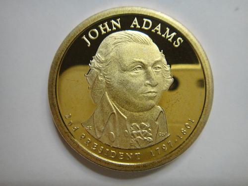 2007-S John Adams Presidential Dollar Proof-65 (GEM)