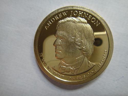 2011-S Andrew Johnson Presidential Dollar Proof-66 (GEM+)