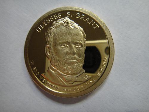 2011-S Grant Presidential Dollar Proof-65 (GEM)
