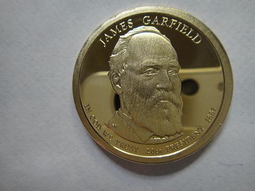 2011-S Garfield Presidential Dollar Proof-66 (GEM+)