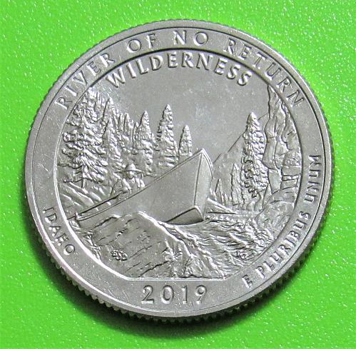 2019-P 25C River of No Return Frank Church Wilderness Idaho - America Beautiful