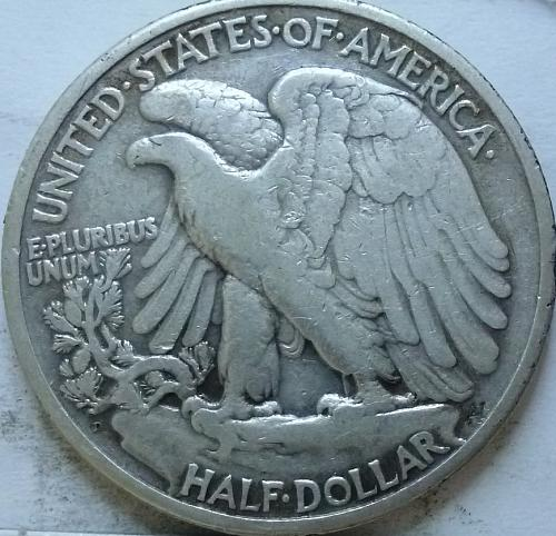 1929-D Very Fine Walking Liberty Half Dollar  ( 329 )