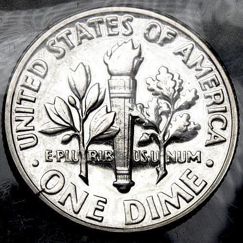 1956 P Roosevelt Dime #6 PROOF