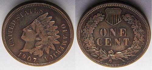 1907 I.H.Cent Better Grade w/Liberty