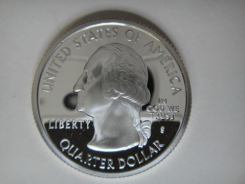 Statehood Quarter 2006-S Nebraska SILVER Proof-65 (GEM)