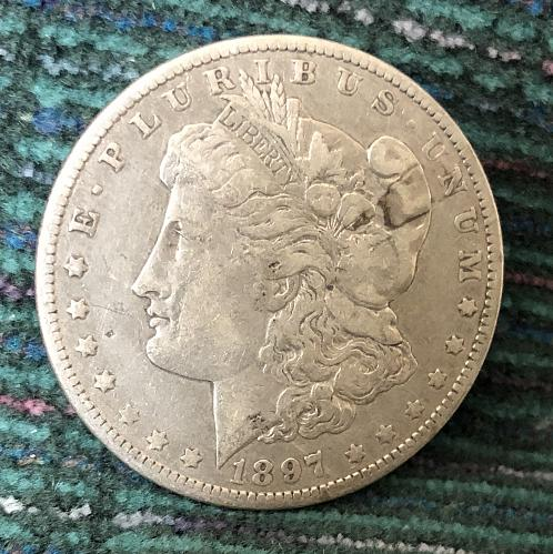 For sale 1897-O Vam 12 O tilted right Low near Date Morgan Silver Dollar