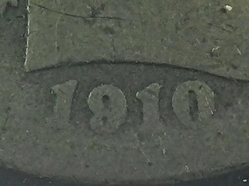 1910 D Barber Dime