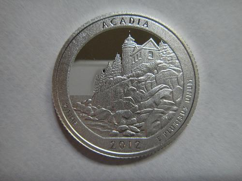 2012-S Maine-Acadia SILVER Proof-65 (GEM)