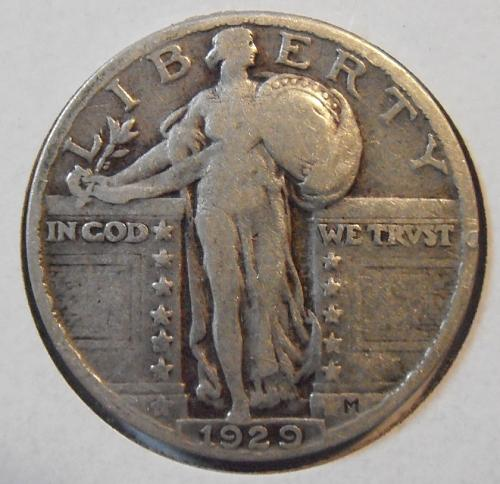1929 P Liberty Standing Quarter (29PLS3)