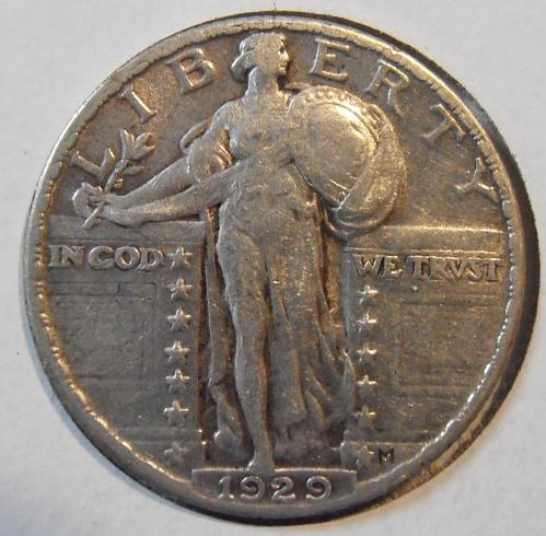 1929 P Liberty Standing Quarter (29PLS6)